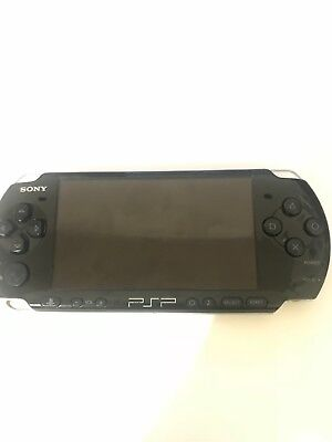 Sony PSP-3001 Playstation Portable PSP Piano Black Video Gaming Handheld System