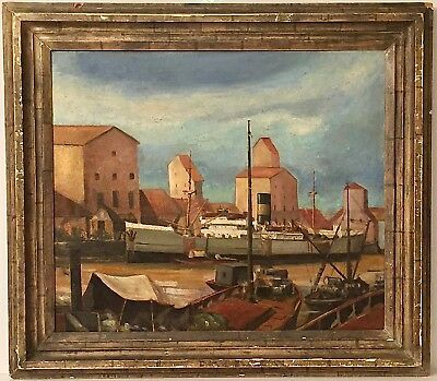Listed Artist Gifford Alexander Cochran (1906-1978) Exhibited Oil Painting 1940
