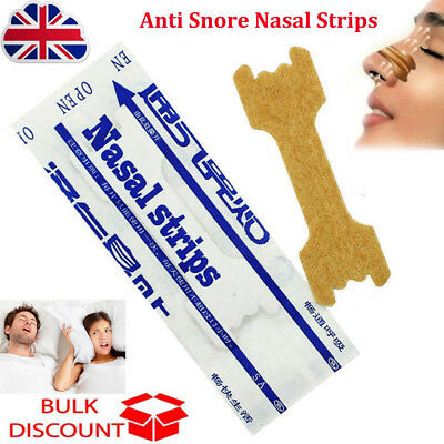 Anti Snore Nasal Strips to help Breathe Right Breathe Better Stop Snoring  L1