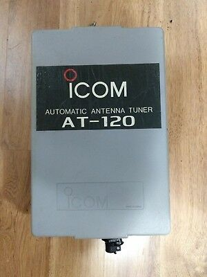 ICOM  AT-120 Automatic Antenna Tuner - excellent condition