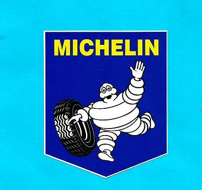 MICHELIN MAN Vinyl Sticker Decal TYRES Car HOT RAT ROD V8 GRAND PRIX !!!!