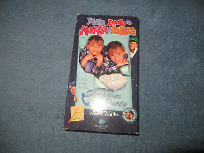 You're Invited to Mary Kate & Ashley's Sleepover Party pre-owned VHS tape 1995