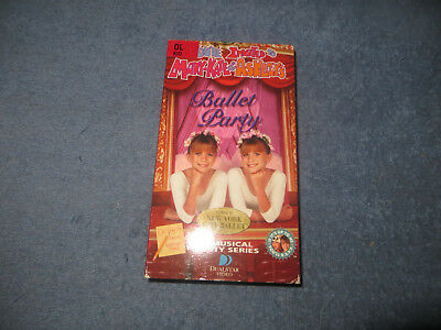 You're Invited to Mary Kate & Ashley's Ballet Party pre-owned VHS tape 1998