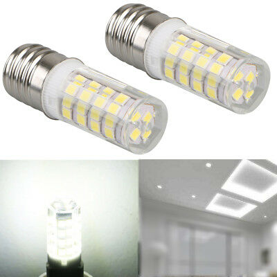 2x Intermediate LED E17 Base Bulb Dimmable Ceiling Halogen Replacement Light