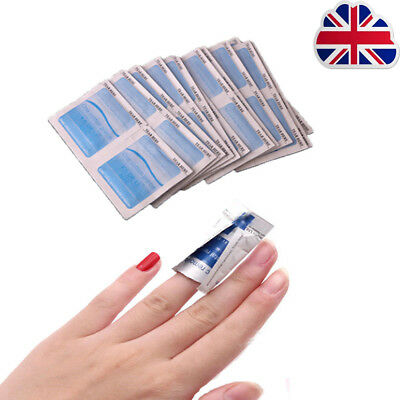 100Pcs Gel Polish Remover UV Soak Off AcetoneRemoval Wraps Nail Art Cleaner  L1
