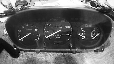 HONDA CIVIC 5 speed manual tachometer gauge cluster 124684 miles 1996-2000
