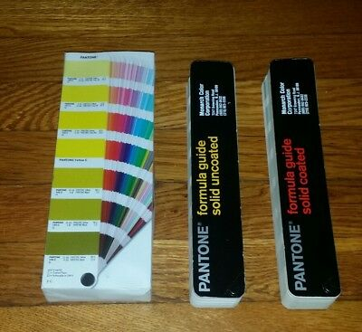 Pantone Formula Guide Solid Coated & Solid Uncoated Third Edition 2005-2006