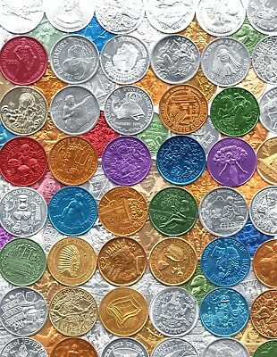 Mardi Gras Doubloon Lot ~ 120 Different Tokens