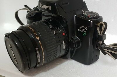 CANON EOS 1000F SLR CAMERA WITH ZOOM LENS EF 35-80mm 1:4-5.6