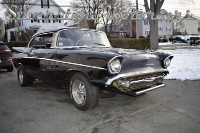Chevrolet Bel Air  1957 Black and Silver 4 Speed Project Car No Post