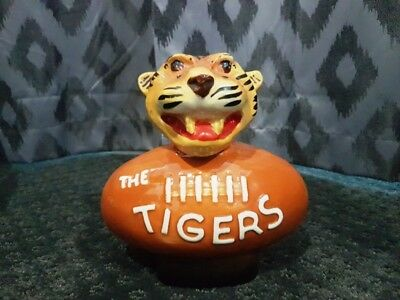 Jim Beam 'the Tigers' Collectable Liquor Bottle 145 Genuine Regal China 1977