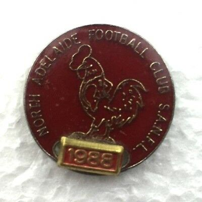 Vintage North Adelaide Football Club 1988 Badge Pin