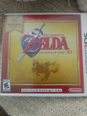 Nintendo Selects: The Legend of Zelda: Ocarina of Time 3D 3DS [Brand New]