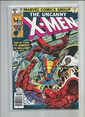 XMEN #129 First Appearance of Kitty Pryde Emma Frost Hellfire Club Fine -VF