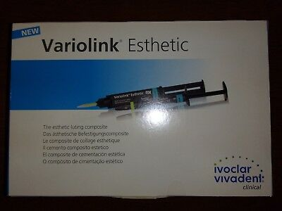 Variolink Esthetic LC DC TRY-IN Test Pack Luting material Neutral EXP 10/18