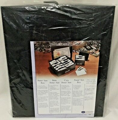 Creative Memories Power Sort Box Large Scrapbook New 2400 Photo NIP New Retired