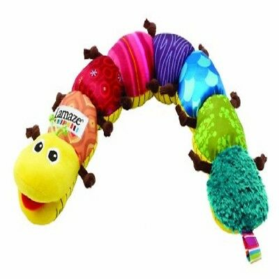 Bright Colors and Multiple Patterns Lamaze Musical Inchworm