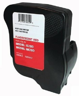 Fluorescent Red Ink Cartridge for Neopost IS280 and Hasler IM280 Postage Meters