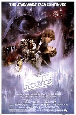 THE EMPIRE STRIKES BACK Movie Poster - Classic Full Size 24x36 Print - Star Wars