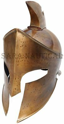 New Greek Corinthian Helmet Brass Antique Medieval Knight Replica Halloween