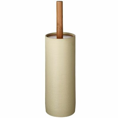 RIDDER Toilet Brush and Holder Roller Beige Cleaner Free Standing 2105409