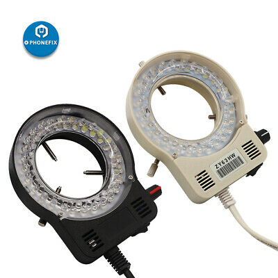110V 220V 56 LED Adjustable Ring Light illuminator lamp stereo zoom microscope