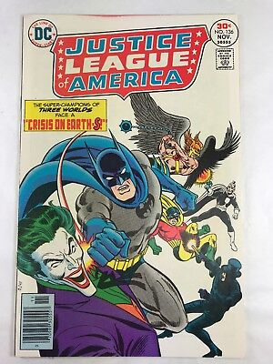 Justice League Of America #136 Vf+ 8.5 1976 Dc Comics