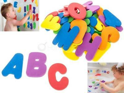 36Pcs Bath Letter&number Alphanumberic Puzzle Soft Eva Foam Early Education Kids
