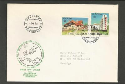 FINLAND - FINLAND - 1978 Eurostamps - FIRST DAY COVER.