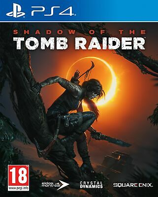 Shadow of the Tomb Raider (PS4) Brand New & Sealed UK PAL Free UK P&P