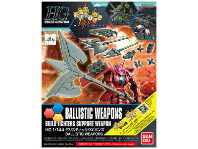 1/144 HGBC Ballistic Weapons - Bandai Model Kit - Neuware