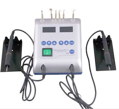 Dental Digital Electric Wax Waxer Carver Double Carving Pen with 6 Tips US STOCK