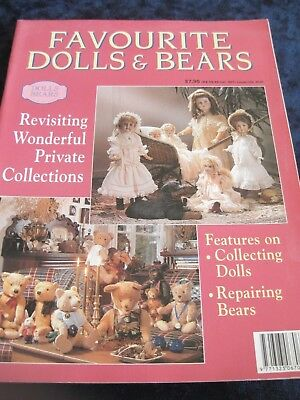 Favourite Dolls & Bears magazine (by Australian Colour Box Collectors Club)