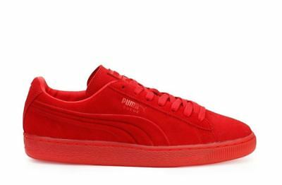 22bdc6c3081 PUMA SUEDE EMBOSSED ICED FLUO 361664 03 High Risk Red Retro Classic Men 12
