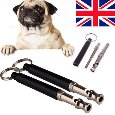 4x Ultrasonic Sound Repeller Dog Pets Whistle Stop Barking Silent Training tools