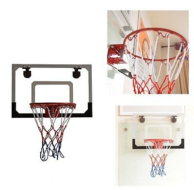 b8e1da29c78 Mini Basketball Hoop System Kids Goal Over The Door Wall Indoor Sports with  Ball