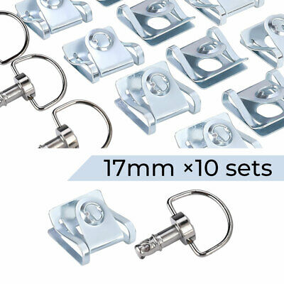 1/4 Turn Quick Release Fasteners 17mm For Race Fairing Quick Release Fasteners