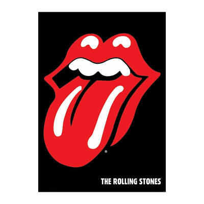 Rolling Stones Lips Image Postcard 10cm x 15cm Official Licensed Merchandise