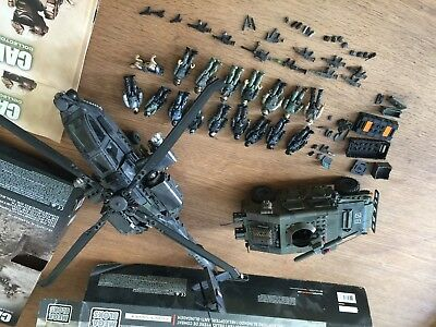 Mattel Mega Bloks DPB60 Call Of Duty Anti-Armor Helicopter und