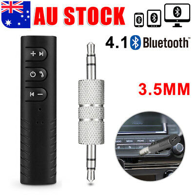 Bluetooth Wireless Audio Receiver Home Car 3.5MM Jack Music 2 in1 Adapter BT8