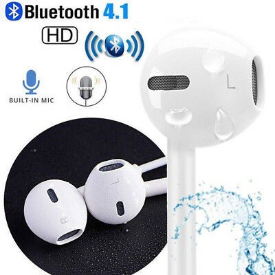 For iPhone 7 8 Plus X iPad Wired Bluetooth Lightning Stereo Earphones Headphones