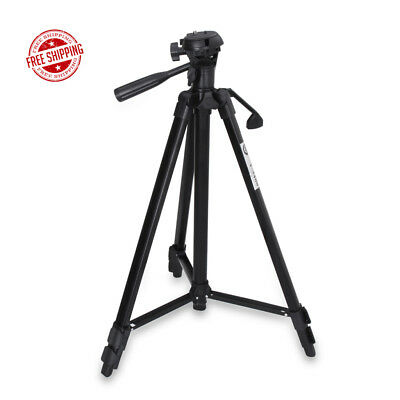 """Professional 53"""" Camera Camcorder Tripod Stand Holder for DSLR Canon Nikon Sony"""