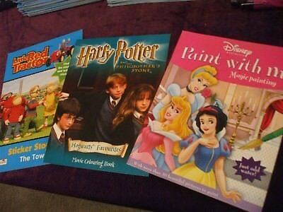 48 Activity Books Harry Potter Little Red Tractor Paint With Water