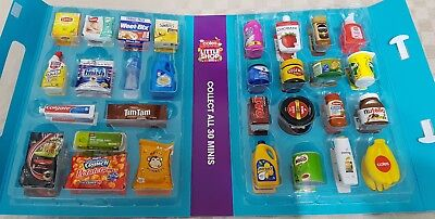 Coles mini Collectables Little Shop any 10 minis