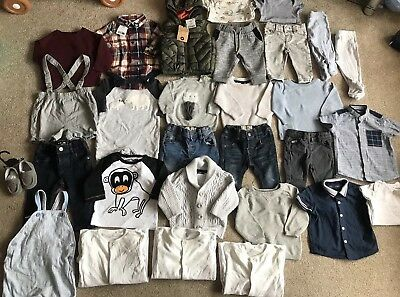 Baby Boys Clothing Bundle 3-6 Months Next River Island Some Brand New With Tags