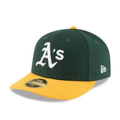 New Era Oakland Athletics Authentic Low Profile 59FIFTY Fitted MLB Cap Home