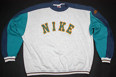 Nike Pullover Pulli Sweat Shirt Sweater Bowerman Top Vintage Spellout 90er  XXL