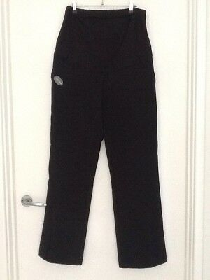BNWT BLOOMING MARVELLOUS MOTHERCARE Black Maternity Trousers Size 14 Bootcut Reg