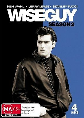Wiseguy : Season Series Two 2 (DVD 4-Disc Set) KEN WAHL NEW SEALED FREE POST