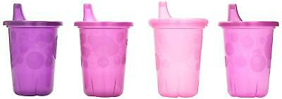 The First Years Take Toss Spill-Proof 4-Pack Sippy Cups - 10 Ounce Pink new